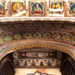 Details design of Muraraka haveli in nawalgarh city rajasthan state in india — Stock Photo