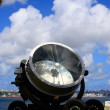 Stock Photo: Old military searchlight