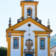 Ouro Preto church - Stock Photo
