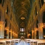 Notre Dame de Paris carhedral — Stock Photo
