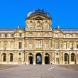 Stock Photo: Le louvre museum palace paris