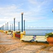 Waterfront promenade recife - Stock Photo