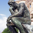 rodin thinker — Stock Photo