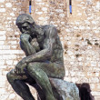 Rodin thinker - Stockfoto