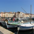Saint tropez port - Stock Photo