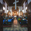 Rosario dos pretos church in salvador of bahia — Stock Photo #12683794