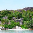 Anse lazio - Stock Photo