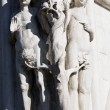 Adam and eve statue — Stock Photo #12684100