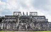 Tempel von der jaguar-krieger-chichen itza — Stockfoto