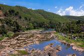 Periyar rzeki wsi — Zdjęcie stockowe