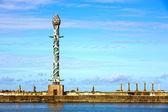 Park rzeźby w stoczni w recife — Zdjęcie stockowe