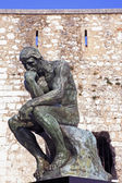 Rodin thinker — Stock fotografie