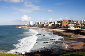 Barra beach salvador of bahia — Stock Photo