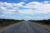 Straight road of ceara — Stock Photo