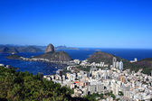 Botafogo and the sugar loaf — Stock Photo