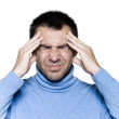 Man portrait headache migraine — Stock Photo #13653240