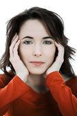 Beautiful charming woman — Stock Photo