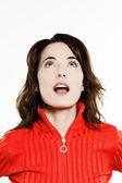 Beautiful expressive woman — Stock Photo