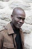 Handsome Afro-American Man portrait — Stock Photo