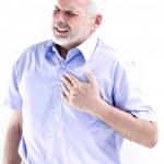 portrait d'infarctus Senior homme — Photo #13670238