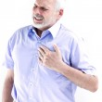 Senior hombre retrato infarto — Foto de Stock   #13670238