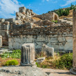 Ephesus ruins Turkey - Stock Photo
