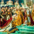 Stock Photo: Coronation of Napoleon david painting Le Louvre paris city