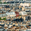 Aerial view paris cityscape France — Stock Photo #19122445
