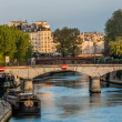 Waterfront paris city France — Stockfoto
