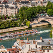 Waterfront paris city France — Stock Photo
