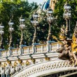 Pont Alexandre III  paris city France — Stock Photo
