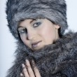Beautiful russian woman — Stock Photo
