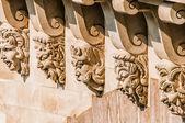 Detalle de pont neuf ciudad de parís francia — Foto de Stock