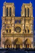 Notre-dame de parís y el sena francia — Foto de Stock