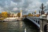 Pont Alexandre III paris city France — Stock Photo