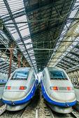 TGV high speed french train — Stock Photo