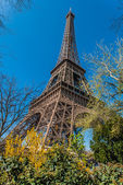 The eiffel tower paris city France — Stock Photo