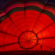 Inside one Hot Air Balloon — Stock Photo