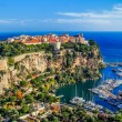 Principaute of monaco and monte carlo - Stock Photo