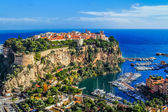Principaute of monaco and monte carlo — Stock Photo