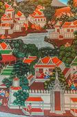Gemälde-royal palace bangkok thailand — Stockfoto