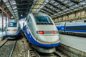TGV high speed french train — Stock Photo