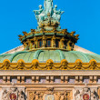 Foto Stock: OperGarnier rooftop paris city France