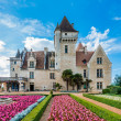 Stock Photo: Chateau des milandes