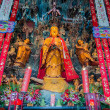 Statue in the The Jade Buddha Temple shanghai china — Stock Photo