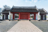 Wen Miao confucius temple shanghai china — Stock Photo