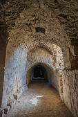 Al Karak kerak crusader castle fortress Jordan — Stock Photo