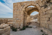 Shobak crusader castle fortress Jordan — Stock Photo