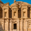 Stock Photo: Monastery (Al Deir) in nabatecity of petrjordan