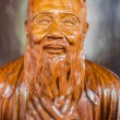 Statue Wen Miao confucius temple shanghai china — Stock Photo